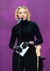 Madonna hosts The Sound of Change Live at Twickenham Stadium in London on Saturday, June 1st, 2013.