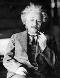 This undated file photo shows Albert Einstein.