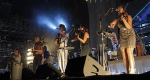 Arcade Fire, Reflektor: The band hired graffiti artists to put the word Reflektor on buildings around the world; eventually, the Internet figured out it was the title of the upcoming album.