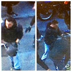 This combination of undated images released by the the New York City Police Department shows a man wanted for questioning in regards to an assault on Sept. 29, 2013.