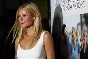 Gwyneth Paltrow arrives at the premiere of Thanks for Sharing at the ArcLight Hollywood on Sept. 16, 2013, in Los Angeles.