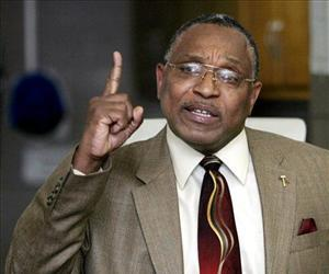 In this file photo, US District Judge Reggie Walton gestures during a speech in Laurel, Md.