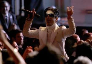 Prince performs during the 2007 National Council of La Raza ALMA Awards in Pasadena, Calif. Friday, June 1, 2007.
