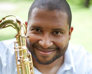 Jazz saxophonist Jimmy Greene.