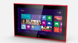 The Nokia Lumia 2520.