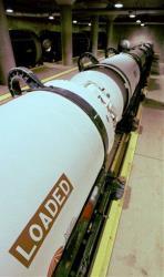 Minuteman missile engines.