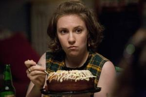 This publicity image released by HBO shows Lena Dunham in 'Girls.'