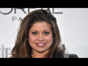 Danielle Fishel is shown in a YouTube thumbnail.