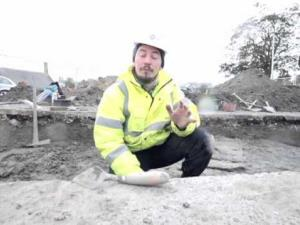 Dr.Oliver O'Grady describes his archaeological dig at Dingwall.