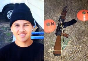 These photos provided by the family via The Press Democrat and the Sonoma County Sheriff's Department show 13-year-old Andy Lopez and the replica assault rifle he was holding when he was killed.