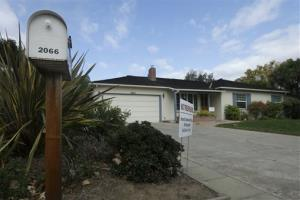 This photo shows 2066 Crist Drive, the home where Steve Jobs grew up, in Los Altos, Calif.