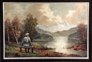 The painting, altered by Banksy, is being auctioned.