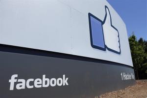 Facebook's headquarters in Menlo Park, Calif.