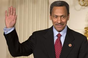 A May 1 file photo of President Obama's nominee to lead the Federal Housing Finance Authority, Rep. Mel Watt, D-N.C.