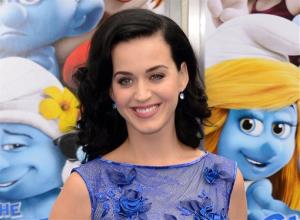 This July 28, 2013 file photo shows singer Katy Perry at the world premiere of The Smurfs 2 in Los Angeles.
