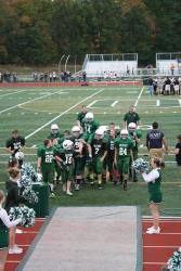 The Olivet Middle School football team after the Oct. game.