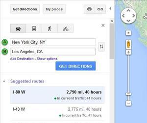 Google Maps thinks the trip should take 40 hours, presumably excluding breaks.
