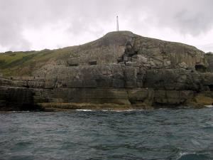 The Tilly Whim Caves, where the woman was trapped.