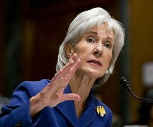 Health and Human Services Secretary Kathleen Sebelius testifies on Capitol Hill Wednesday.