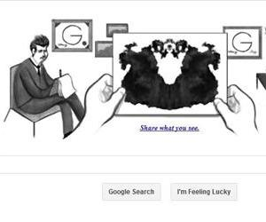 A screenshot from the Google homepage, taken Nov. 8, 2013.