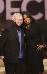 Oprah Winfrey and Roger Ebert went out twice in the 1980s, and it was Ebert who encouraged Winfrey to syndicate her talk show.