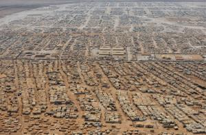 The Zaatari refugee camp near the Jordanian city of Mafraq.