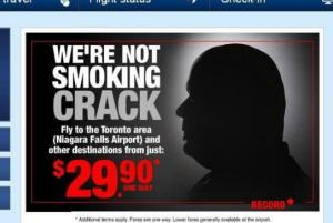 The new ad from Spirit Airlines.