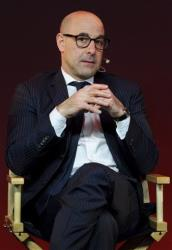 Stanley Tucci: The Tucci Cookbook, with Italian recipes.