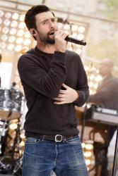 Maroon 5 lead singer Adam Levine performs on NBC's Today show on Friday, June14, 2013 in New York.