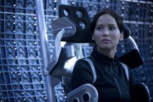 This film image released by Lionsgate shows Jennifer Lawrence in a scene from The Hunger Games: Catching Fire.