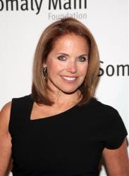 Television journalist Katie Couric attends the Somaly Mam Foundation Gala on Wednesday, Oct. 23, 2013, in New York.