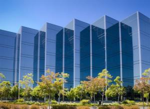 An office building in Silicon Valley.