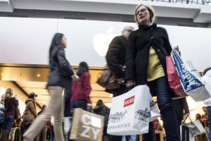 File photo of Black Friday shoppers.