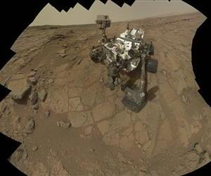This Feb 3, 2013 image provided by NASA shows a self portrait of the Mars rover, Curiosity.