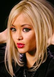 Miss Tila, formerly known as Tila Tequila, poses for a photo after an interview in Los Angeles on Tuesday May 11,2010.
