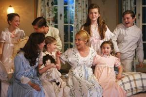 The cast of The Sound of Music Live!