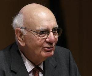 Former Federal Reserve Bank Chairman Paul Volcker.