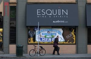The Esquin Wine Merchants store where the theft happened.