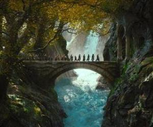This image released by Warner Bros. Pictures shows a scene from The Hobbit: The Desolation of Smaug.