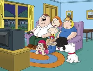 This image released by Fox shows characters from Family Guy.