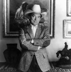 This June 1983 file photo provided by Viva Records, shows country singer Ray Price.