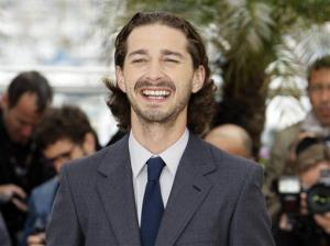 In this May 19, 2012, file photo, actor Shia LaBeouf poses during a photo call for Lawless at the 65th international film festival, in Cannes, southern France.