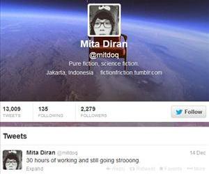 Mita Diran's Twitter account.