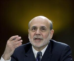 In this Feb. 26, 2013 file photo, Federal Reserve Board Chairman Ben Bernanke testifies before the Senate Banking Committee hearing on Capitol Hill.