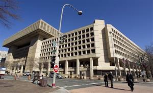 This Feb. 3, 2012 file photo shows Federal Bureau of Investigation (FBI) headquarters in Washington.