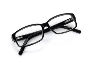 A girl's glasses may have saved her life.