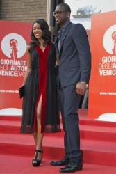 Actress Gabrielle Union, left, and basketball player Dwayne Wade arrive for the screening of the film 'Miu Miu Women's Tale' at the Venice Film Festival in Venice, Italy, Thursday, Aug. 29, 2013.