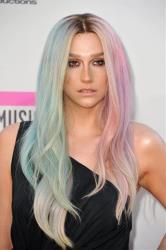 Ke$ha arrives at the American Music Awards Nov. 24, 2013, in Los Angeles.