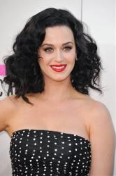 Katy Perry arrives at the American Music Awards at the Nokia Theatre L.A. Live on Sunday, Nov. 24, 2013, in Los Angeles.