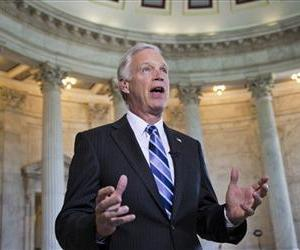 Ron Johnson speaks in this Sept. 4, 2013 file photo.
